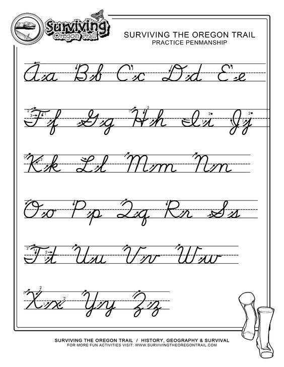 Collection of Solutions Cursive Writing Alphabet Worksheets Free With Additional Worksheet