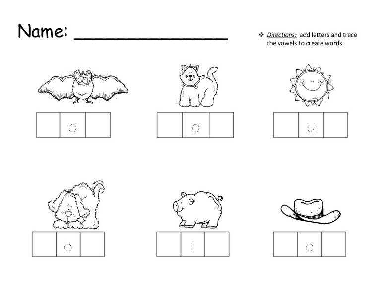 Brilliant Ideas of Cvc Words Worksheets Free For Your Free