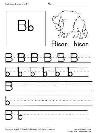 Snapshot image of printable one page of D Nealian style handwriting practice
