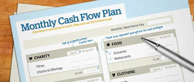 Free Download Monthly Cash Flow Plan