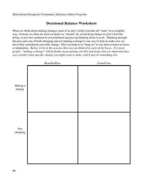 REALITY THERAPY WDEP WORKSHEET counsling Pinterest