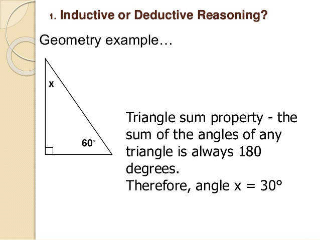 6 1 Inductive or Deductive Reasoning