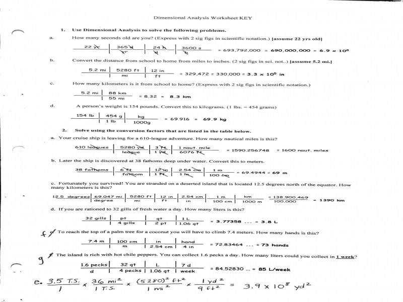Density Calculations Worksheet I Hc Worksheet Key 10 3 13