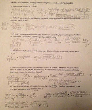 Unit 2 1 Dimensional Analysis Worksheet & Take Home Quiz Chemistry Blog