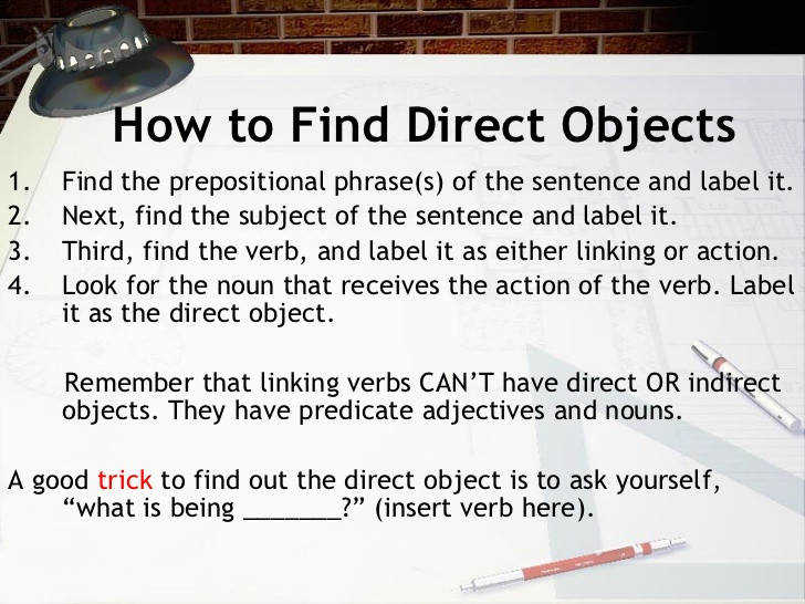 3 How to Find Direct Objects