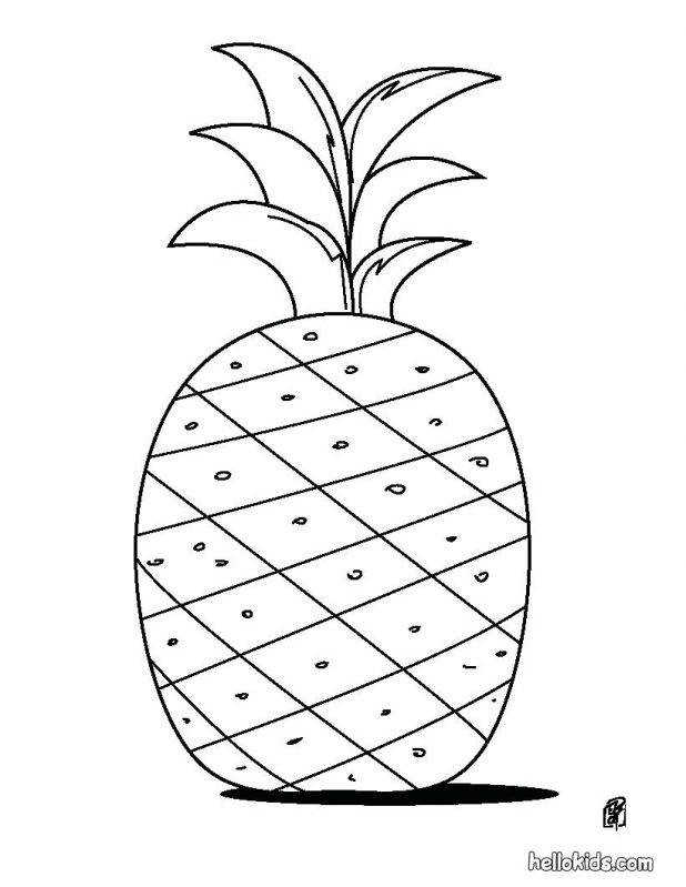 Pineapple Coloring Page 85 Interesting Dna Worksheet Pdf