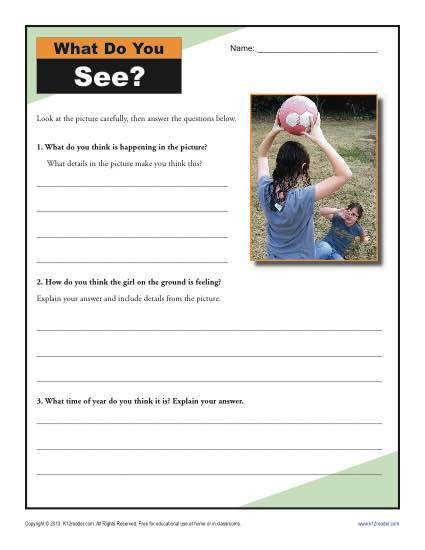 4th and 5th Grade Activity Drawing Conclusions Your student will analyze the clues in