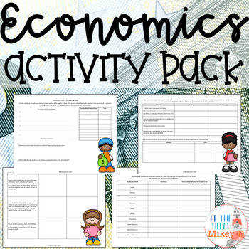Economics Worksheets for Middle Schoolers