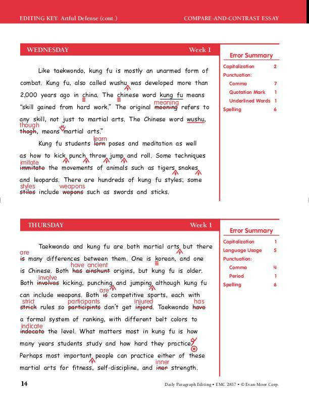 Awesome Collection of Paragraph Editing Worksheets 5th Grade For Worksheet