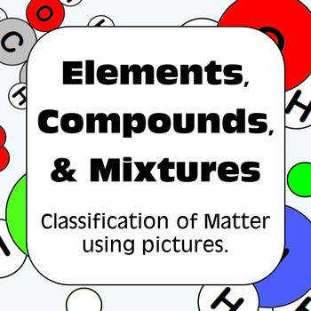 Elements pounds and Mixtures Classification of Matter
