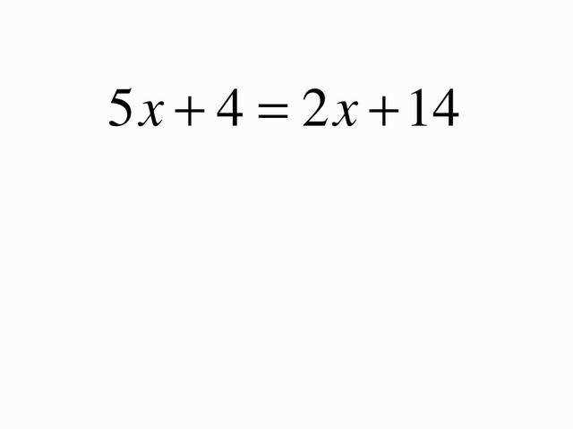 All Worksheets Equations With Variables Both Sides