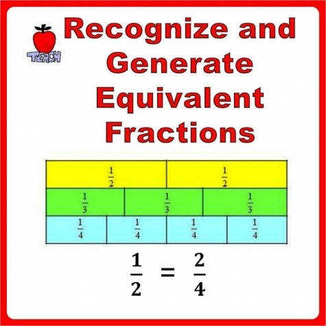 Fractions Worksheets 3rd 4th Grade Equivalent Fractions 1