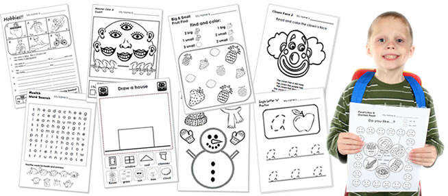 ESL kids woksheets Worksheets