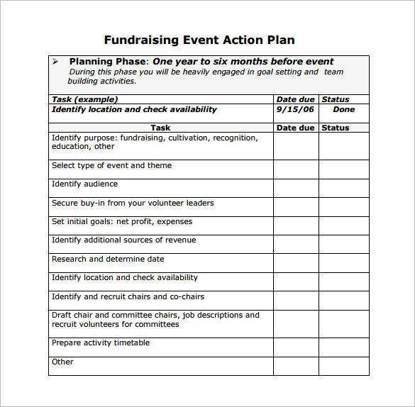 Event Planning Template – 5 Free Word Pdf Documents Download for Fundraising Event Planning Worksheet