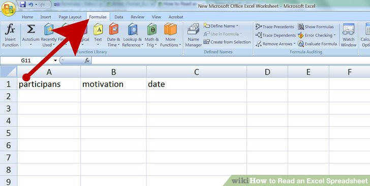Image titled Read an Excel Spreadsheet Step 4
