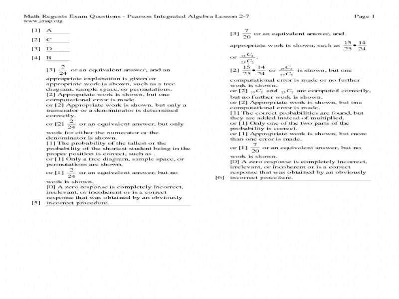 Probability Independent And Dependent Events Worksheets Answers