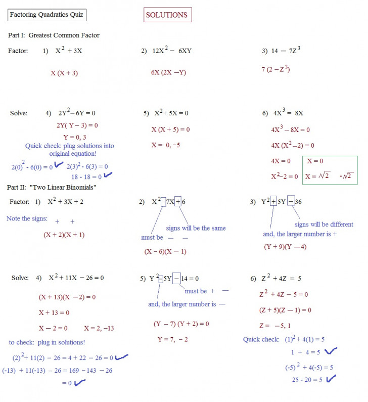 word problems with quadratic functions