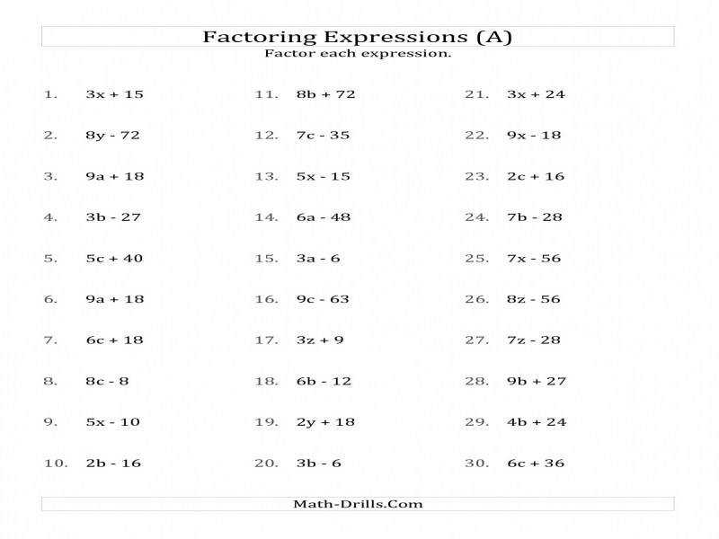 Factoring Non Quadratic Expressions With No Squares Simple