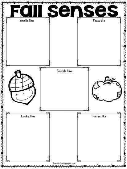 Writing FREEbie for Fall Worksheet 2