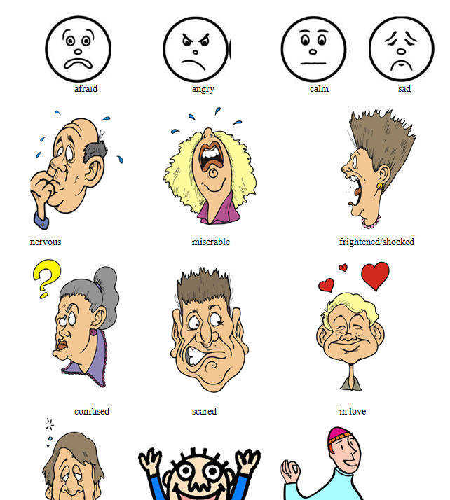 Moods and Feelings Worksheet