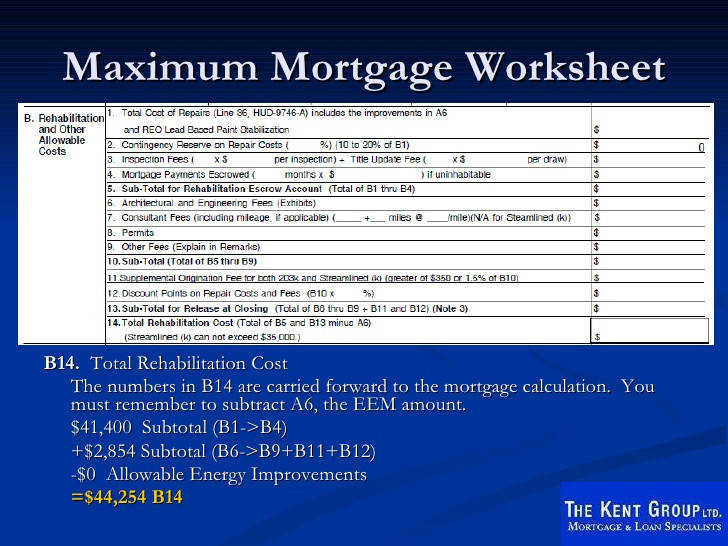44 maximum mortgage worksheet