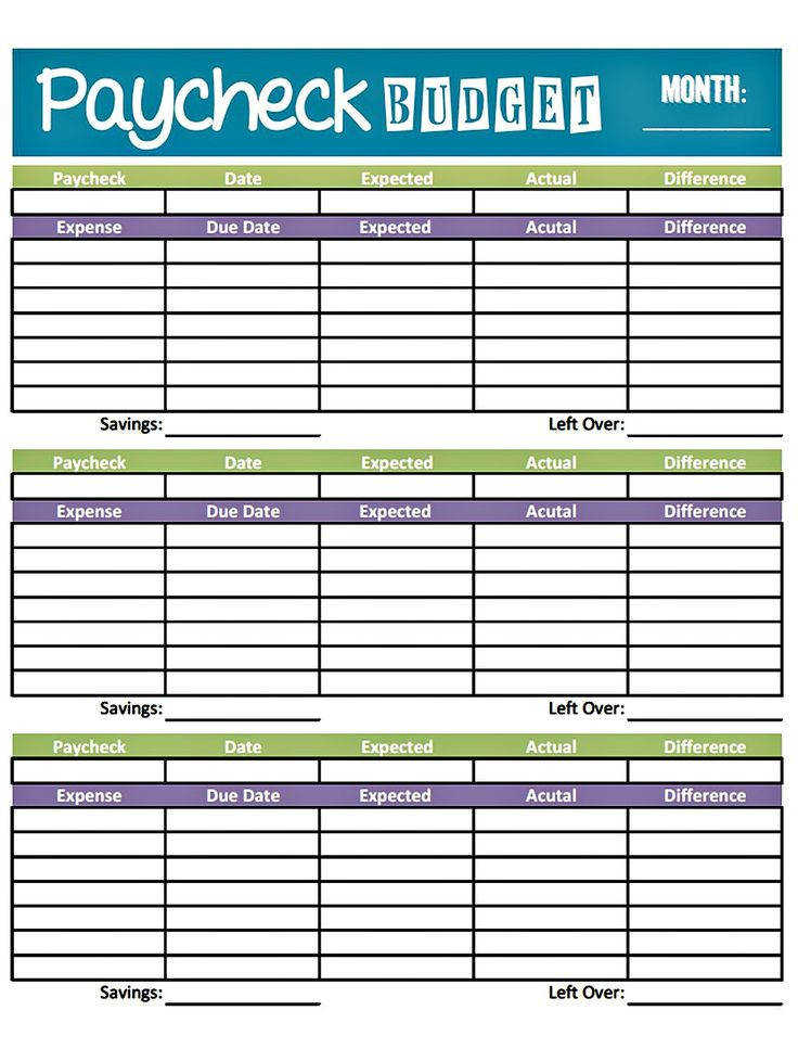 bud worksheet printable paid weekly and Charlie s paid bi weekly so there s several gotta bud Pinterest
