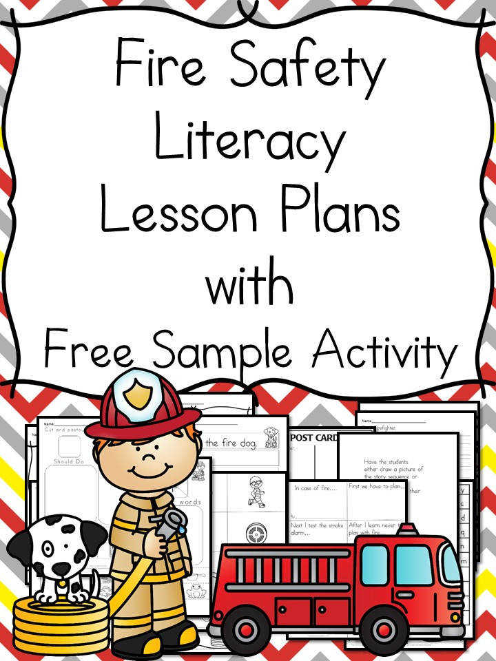 Fire Safety Worksheets for Kindergarten Help your students learn about Fire Safety with these Fire