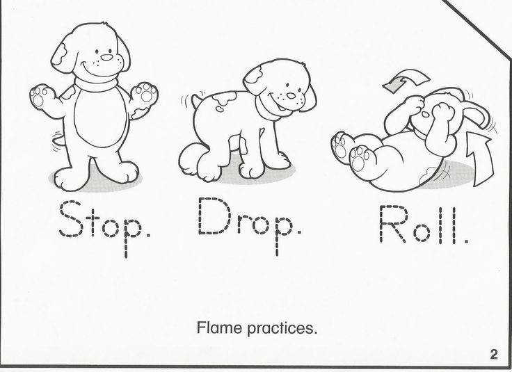 Stylish Decoration Fire Safety Coloring Pages 176 Best PreK Pinterest Prevention