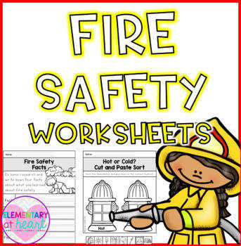 Fire Safety Worksheets K 1 Fire Prevention Week