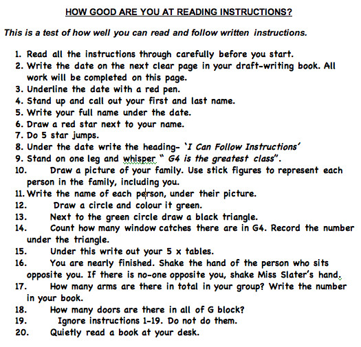 Christmas Following Directions Worksheet