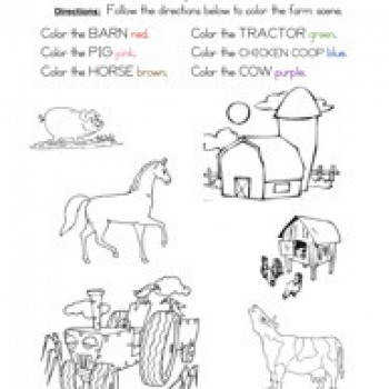 Worksheets Following Directions Worksheet following directions worksheet coloring have fun teaching