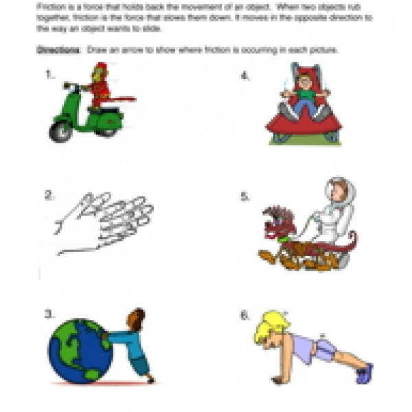 Forces Friction Homework by mwiggins Teaching Resources TES
