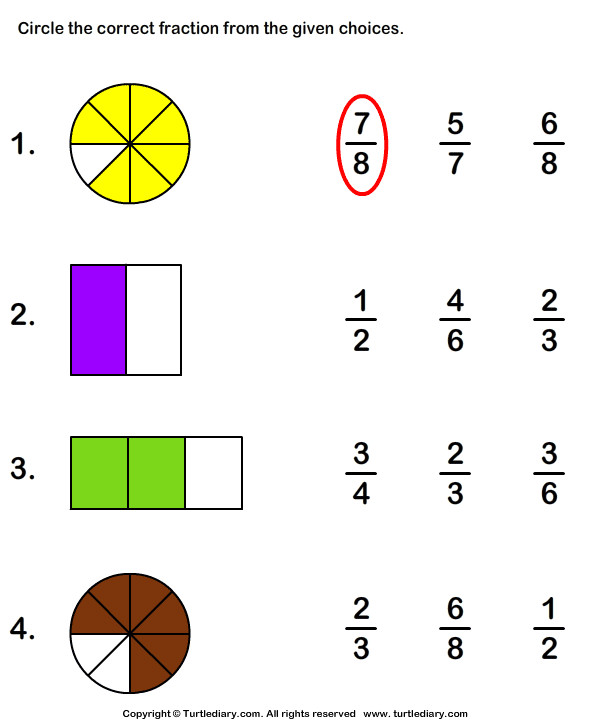 What Fraction Does the Shape Show