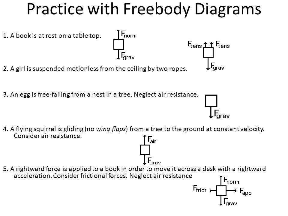 Worksheets Free Body Diagram Practice Worksheet With Answers free body diagram worksheet fireyourmentor printable worksheets forces