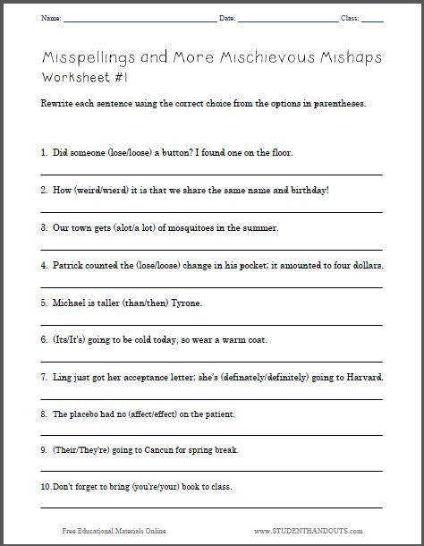 Free Grammar Worksheets For Grade 5 Laptuoso
