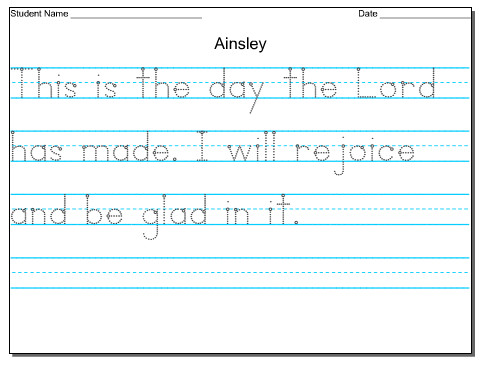 customizable handwriting sheet Check out these FREE customizable handwriting worksheets
