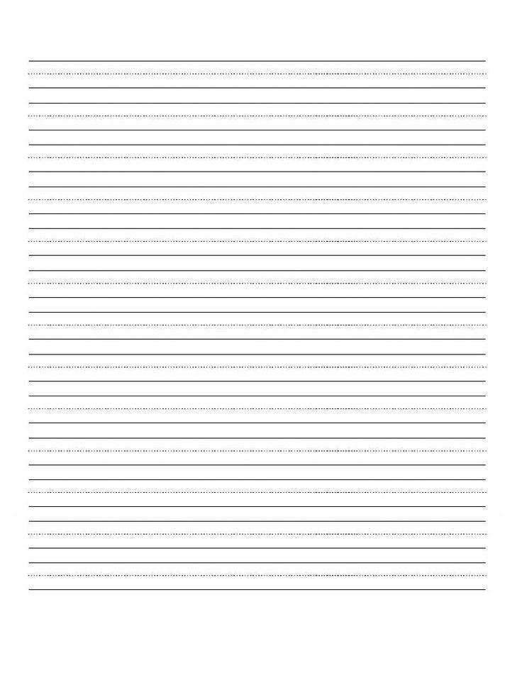 5 Best of Printable Blank Writing Pages Free Printable Kindergarten Writing Paper Blank Kindergarten Writing Worksheets and Free Lined Writing