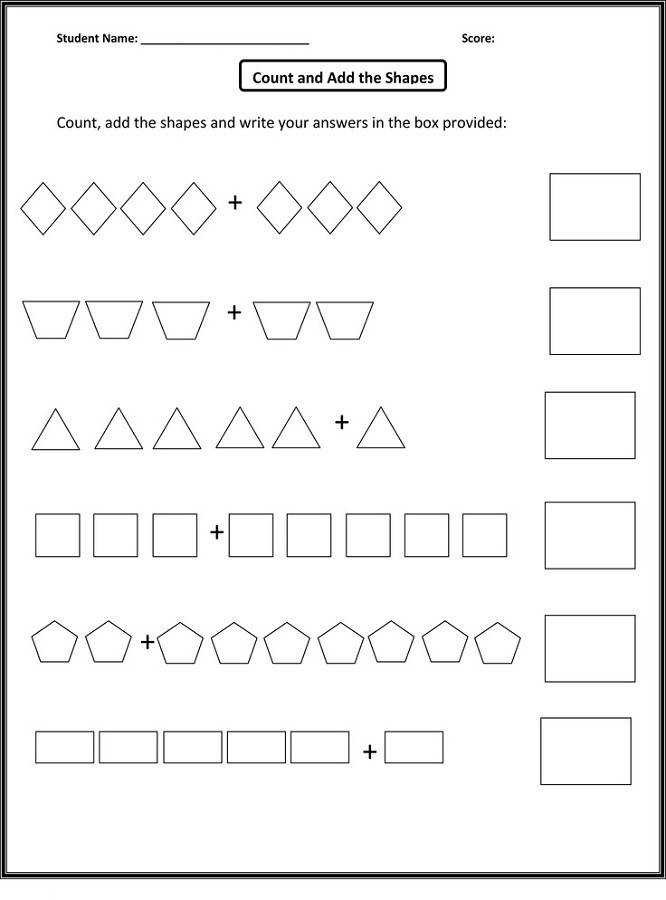 free homeschool printable worksheets count