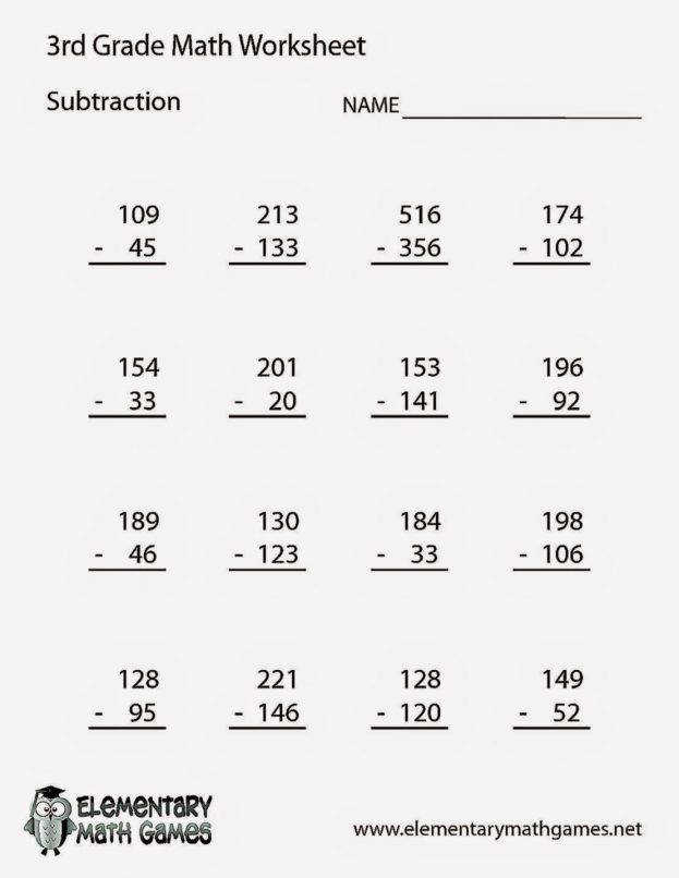 Free Math Worksheets For 3rd Grade Multiplication 3Rd Grade Math WorksheetsFree Coloring Sheet