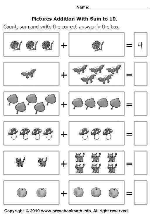 1000 About Math Worksheets Pinterest Fractions For