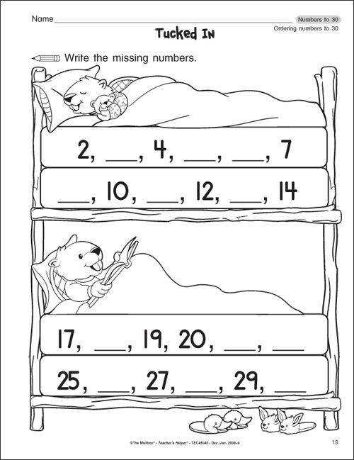 Get Free Kindergarten Grade Math Worksheets Worksheets for Kindergarten The Mailbox