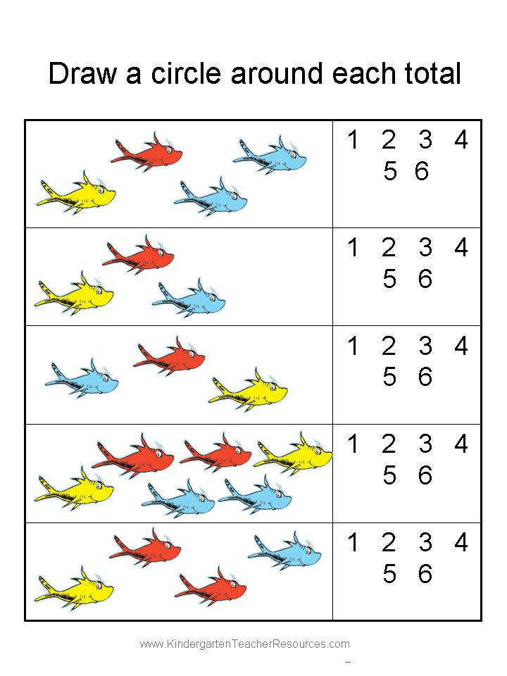 Dr Seuss Printable Worksheets