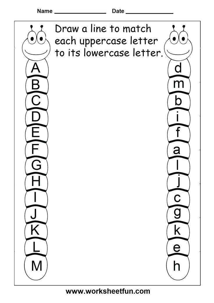 letter worksheets for kindergarten view preview