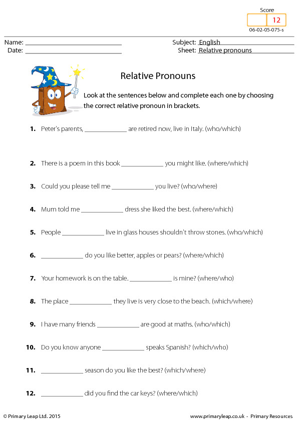 FREE Reflexive Pronouns Worksheets