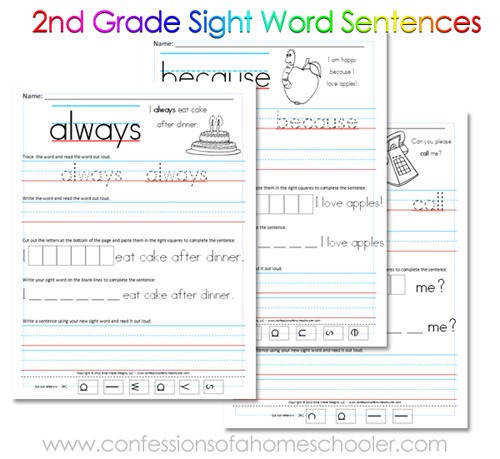 Browsing Category Sight Words