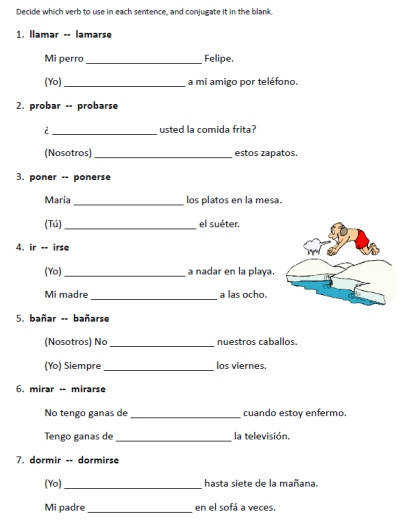 17 Best ideas about Spanish Worksheets on Pinterest