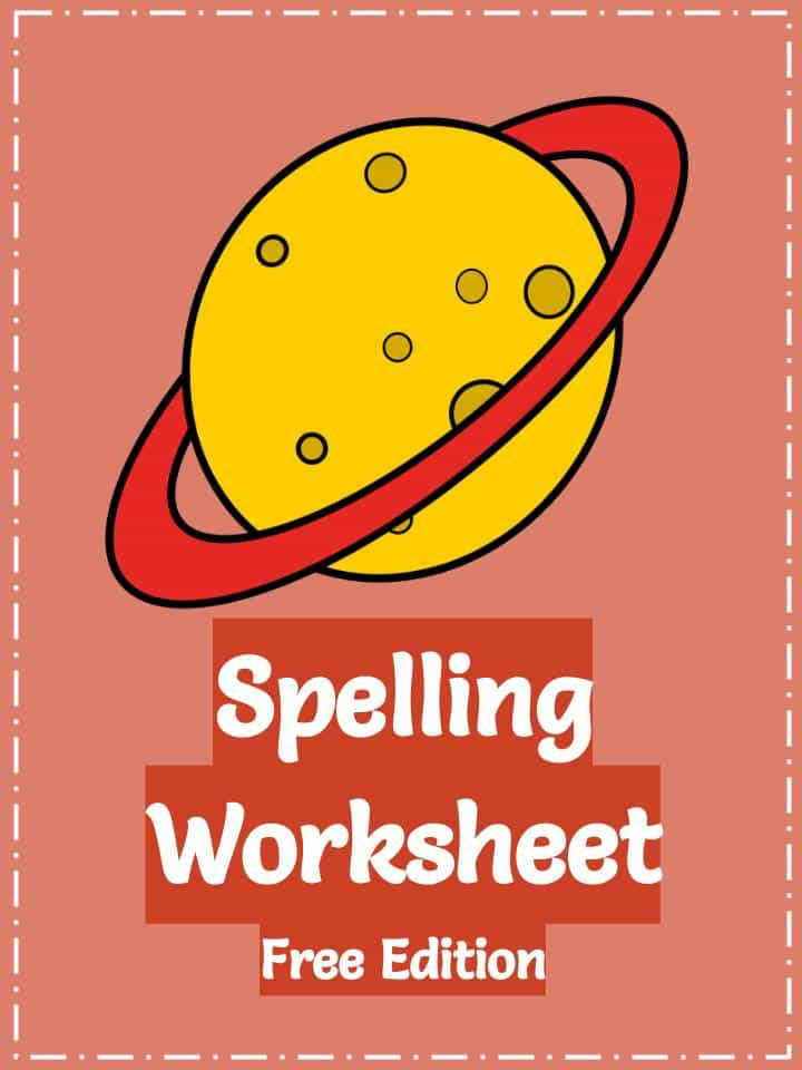 Download the Free Spelling Worksheets