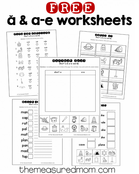 My kindergartner loved these silent e worksheets Such a great assessment tool