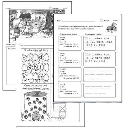 Homework Workbooks for Teachers