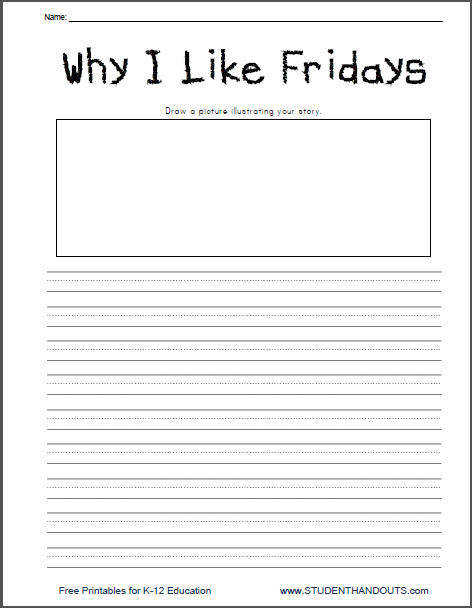 Free Writing Worksheets